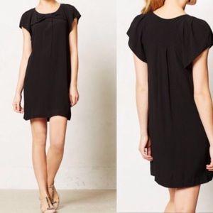 Anthro HD in Paris Deora Black Bow Dress Women's 4